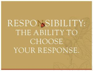for OMR091613 on responsiblity