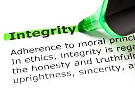 for OMR 020514.3 on integrity